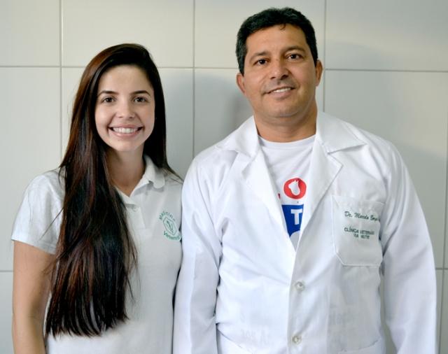 Aline Souza e Marcelo Borges.