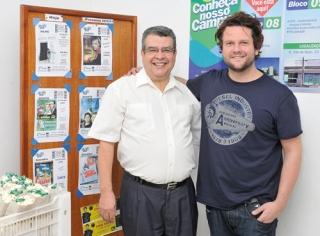 Itamar Bonfim e Selton Mello.