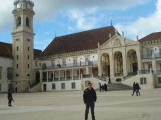 Paço das Escolas - Universidade de Coimbra e Relogio À Cabra