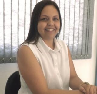Janayna Brandão de Andrade: psicóloga e orientadora educacional - aplica testes vocacionais há cinco anos em escola.