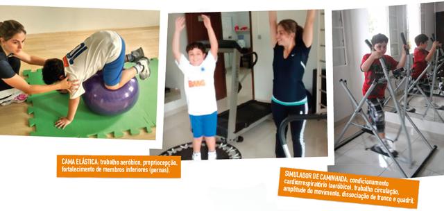 CAMA EL�STICA: trabalho aeróbico, propriocepção, fortalecimento de membros inferiores (pernas).