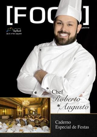 nossa capa   Chef Roberto Augusto   Foto:  Acervo R.A. Idealização e Realização:  Fabíola Castro