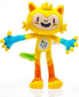 Vinícius, o mascote dos Jogos Olímpicos, tem este nome em homenagem a Vinícius de Morais. Ele representa a fauna brasileira.