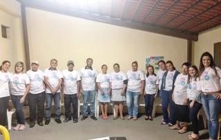Pacientes portadores de Angioedema Hereditário e Equipe Multidisciplinar no Dia Internacional do Angioedema Hereditário.