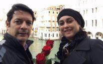 Alessandro Leonardo de Oliveira e Ludmila Esper Monteiro - Itália