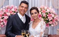 Edmeigon Aparecido Martins Frade e Thaís Maria Soares