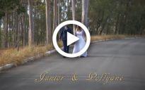Assista ao vídeo do casamento de Junior e Pollyane